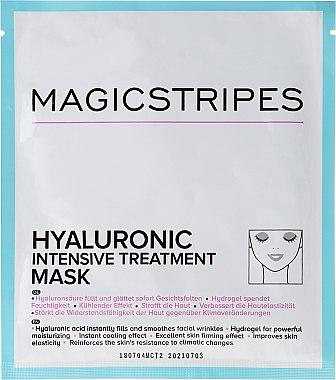 Masque hydrogel intense à l'acide hyaluronique - Magicstripes Hyaluronic Intensive Treatment Mask — Photo N1