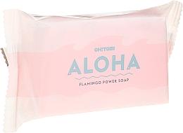 Parfums et Produits cosmétiques Savon à la glycérine, Flamant - Oh!Tomi Aloha Flamingo Power Soap
