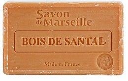 Parfums et Produits cosmétiques Savon de Marseille au bois de santal - Le Chatelard 1802 Sandal Wood Soap