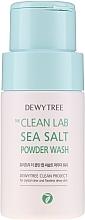 Parfums et Produits cosmétiques Poudre nettoyante au sel de mer pour visage - Dewytree The Clean Lab Sea Salt Powder Wash