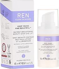 Parfums et Produits cosmétiques Gel-sérum anti-cernes à l'acide hyaluronique pour contour des yeux - Ren Keep Young And Beautiful