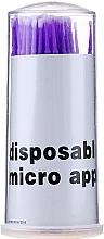 Parfums et Produits cosmétiques Micro-brosses à cils, violet - Novalia Group