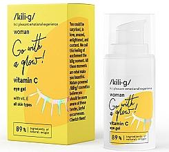 Parfums et Produits cosmétiques Gel à la vitamine C pour contour des yeux - Kili·g Woman Eye Gel