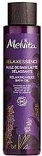 Parfums et Produits cosmétiques Huile de bain bio relaxante - Melvita Relaxessence Relaxing Milky Bath Oil