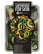 Parfums et Produits cosmétiques Set masques visage - Superfood Salad For Skin Skin Limp And Requiring Regeneration(masques/7x25ml)