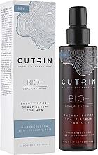 Parfums et Produits cosmétiques Sérum à l'extrait d'écorce de pin pour cuir chevelu - Cutrin Bio+ Energy Boost Scalp Serum For Men