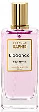 Parfums et Produits cosmétiques Saphir Parfums Elegance - Eau de Parfum