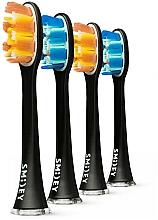 Parfums et Produits cosmétiques Têtes de remplacement pour brosse à dents électrique, 4 pcs - Smiley Pro White