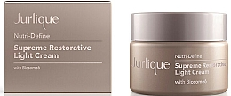 Parfums et Produits cosmétiques Crème légère à l'extrait de brède mafane pour visage - Jurlique Nutri-Define Supreme Restorative Light Cream