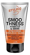 Parfums et Produits cosmétiques Joanna Styling Effect Hair Cream With 4 Oils - Crème aux huiles d'argan, coco, macadamia et amande pour cheveux