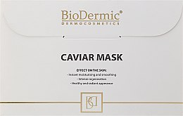 Parfums et Produits cosmétiques Masque tissu au caviar pour visage - BioDermic Caviar Extract Mask