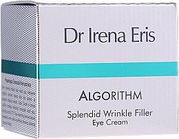 Parfums et Produits cosmétiques Crème à l'huile de riz contour des yeux - Dr Irena Eris Algorithm Splendid Wrinkle Filler Eye Cream