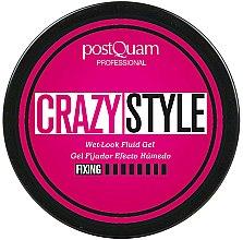 Parfums et Produits cosmétiques Gel coiffant effet mouillé - PostQuam Extraordinhair Crazy Style Wet Look Fluid Gel