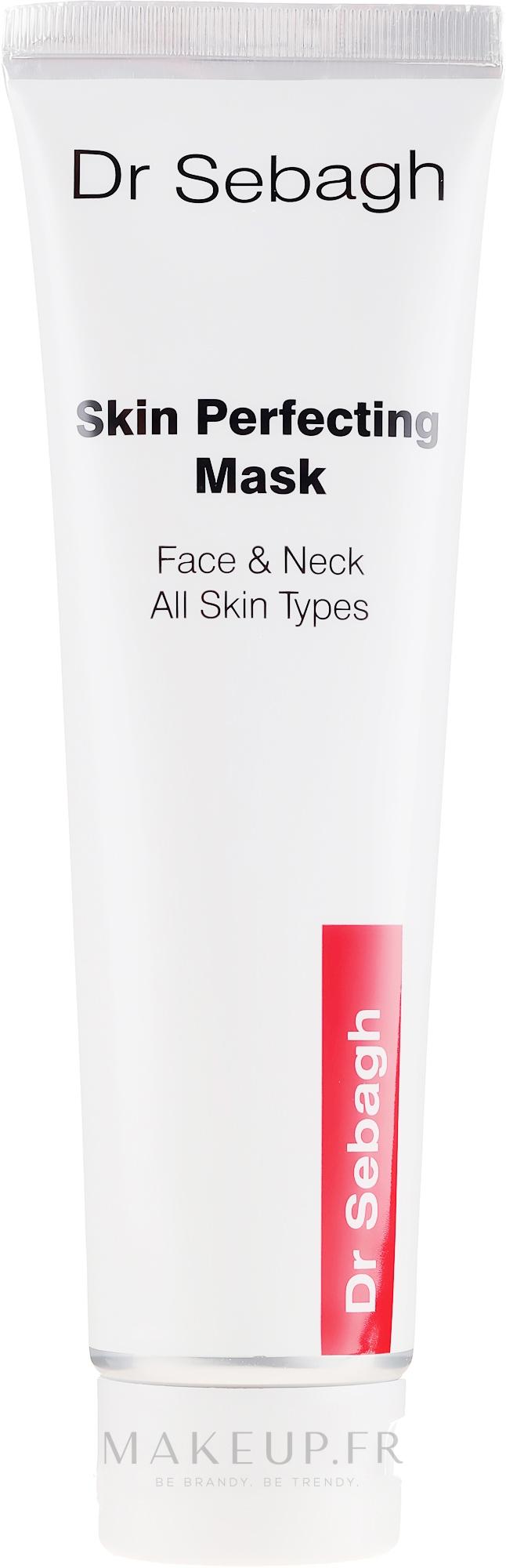 Masque sublimateur de teint pour visage et cou - Dr Sebagh ...