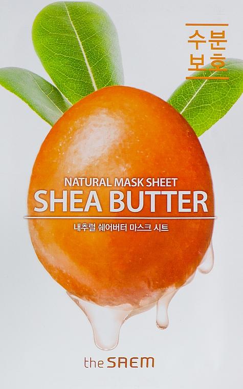 Masque tissu au beurre de karité pour visage - The Saem Natural Shea Butter Mask Sheet