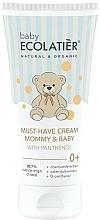 Parfums et Produits cosmétiques Crème au D-panthénol pour maman et bébé - Ecolatier Baby
