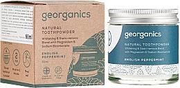 Parfums et Produits cosmétiques Dentifrice en poudre naturel menthe poivrée - Georganics English Peppermint Natural Toothpowder