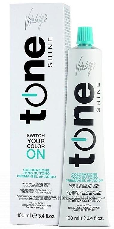 Crème-gel colorante ton sur ton pour cheveux - Vitality's Tone Shine