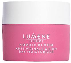 Parfums et Produits cosmétiques Crème de jour à l'extrait d'airelle nordique - Lumene Lumo Nordic Bloom Anti-wrinkle & Firm Day Moisturizer