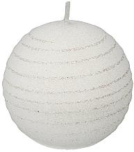 Parfums et Produits cosmétiques Bougie décorative ronde 10cm, blanc - Artman Andalo