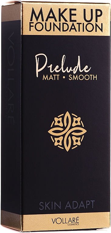 Fond de teint matifiant - Vollare Prelude Smoothing & Mattifying Make Up Foundation