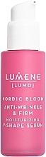 Parfums et Produits cosmétiques Sérum à l'algue nordique pour visage - Lumene Lumo Nordic Bloom Anti-wrinkle & Firm Moisturizing V-Shape Serum