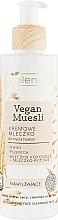 Parfums et Produits cosmétiques Bielenda Vegan Muesli Moisturizing Face Cleaning Milk - Lait lavant crémeux à l'extrait d'avoine pour visage