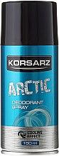 Parfums et Produits cosmétiques Déodorant spray - Pharma CF Korsarz Arctic Deodorant