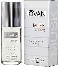 Parfums et Produits cosmétiques Jovan Platinum Musk For Men - Eau de Cologne