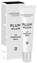 Parfums et Produits cosmétiques Soin bio fruité et sensuel pour lèvres sèches et abîmées - Madara Cosmetics Plum Plum Lip Balm
