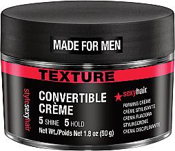 Parfums et Produits cosmétiques Crème coiffante à tenue moyenne - SexyHair Style Convertible Forming Creme