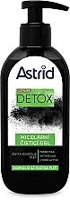 Parfums et Produits cosmétiques Gel micellaire nettoyant au charbon actif pour visage - Astrid Citylife Detox