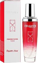 Parfums et Produits cosmétiques Lotion tonique aux céramides pour visage - FarmStay Ceramide Firming Facial Toner