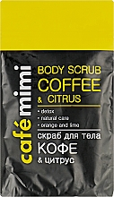 Gommage pour corps, Café et agrumes - Cafe Mimi Body Scub Coffee & Citrus — Photo N1