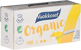 Parfums et Produits cosmétiques Tampons bio sans applicateur,mini 16pcs - Vuokkoset Organic Mini Tampons