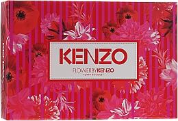 Parfums et Produits cosmétiques Flower By Kenzo Poppy Bouquet - Coffret (eau de parfum/50ml + lait corporel/50ml + trousse de toilette/1)