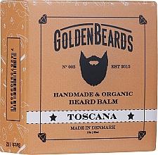 Parfums et Produits cosmétiques Baume à barbe bio, Toscana - Golden Beards Beard Balm