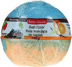 Parfums et Produits cosmétiques Bombe de bain effervescente, orange-bleu - Belle Nature Bath Fizzer