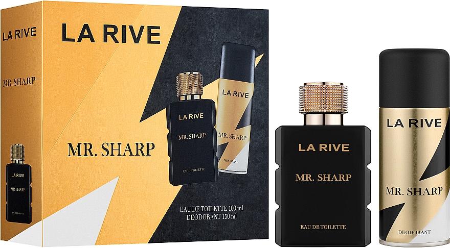 La Rive Mr. Sharp - Set (eau de toilette/100ml + déodorant/150ml)