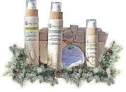 Parfums et Produits cosmétiques Shy Deer - Coffret cqdequ(émulsion/200ml + tonique/200ml + gommage/100ml + lingette + porte-clé)
