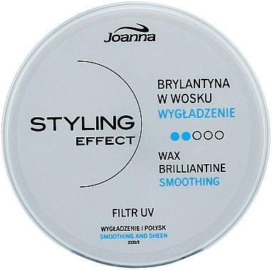 Cire brillante avec filtre UV pour cheveux - Joanna Styling Effect Wax Brilliantine
