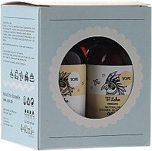 Parfums et Produits cosmétiques Kit de voyage - Yope (lotion corps/40ml + gel douche/40ml + shampooing/40ml + après-shampooing/40ml)