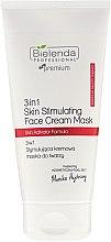Parfums et Produits cosmétiques Masque crème régénérant 3en1 pour le visage - Bielenda Professional Individual Beauty Therapy 3in1 Skin Stimulating Face Cream Mask