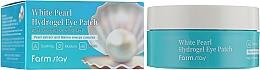 Parfums et Produits cosmétiques Patchs hydrogel à l'extrait de perles contour des yeux - FarmStay White Pearl Hydrogel Eye Patch