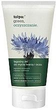 Parfums et Produits cosmétiques Gel nettoyant doux pour visage et yeux - Tolpa Green Cleanup Gel