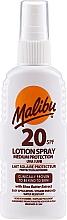 Parfums et Produits cosmétiques Spray lait solaire SPF20 pour le corps - Malibu Lotion Spray SPF20