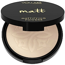 Parfums et Produits cosmétiques Poudre compacte matifiante pour visage - Vollare Mattifying Face Powder