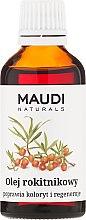 Parfums et Produits cosmétiques Huile d'argousier - Maudi