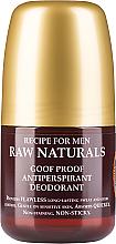 Parfums et Produits cosmétiques Déodorant roll-on - Recipe For Men RAW Naturals Goof Proof Antitranspirant Deodorant