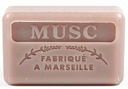 Parfums et Produits cosmétiques Savon végétal de Marseille, Musc - Foufour Savonnette Marseillaise Musc